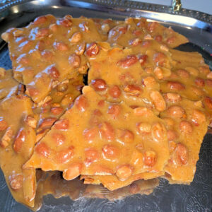 Holiday Peanut Brittle